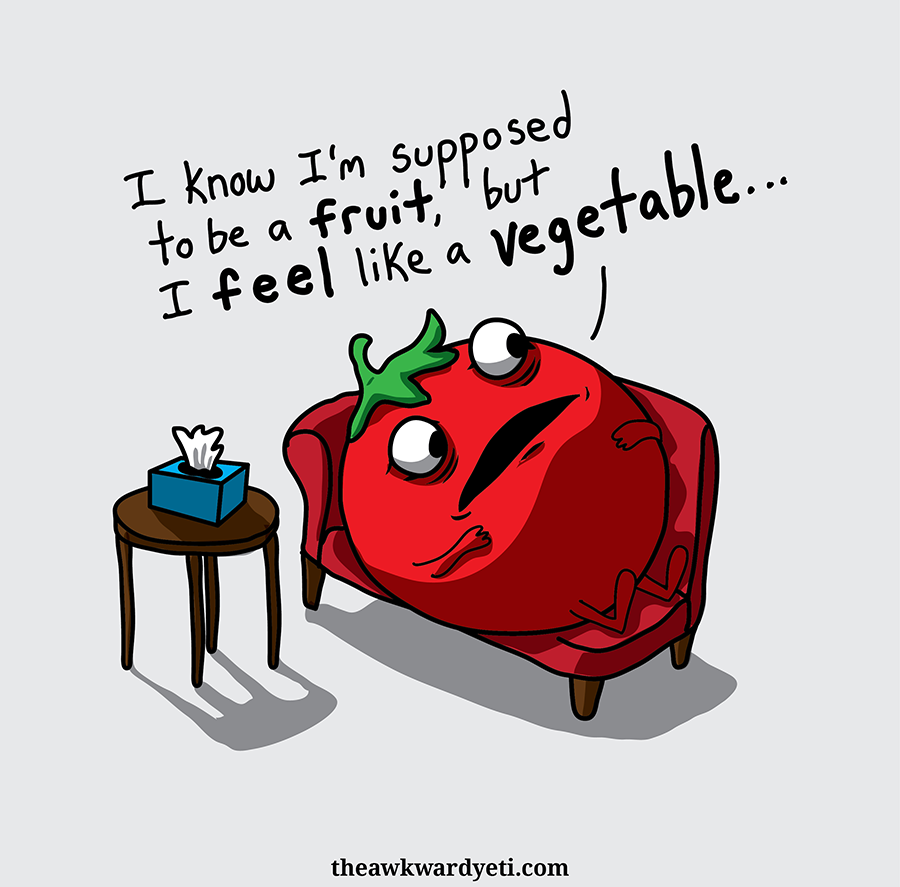 Tomato is conflicted