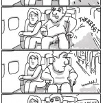 typical airplane ride