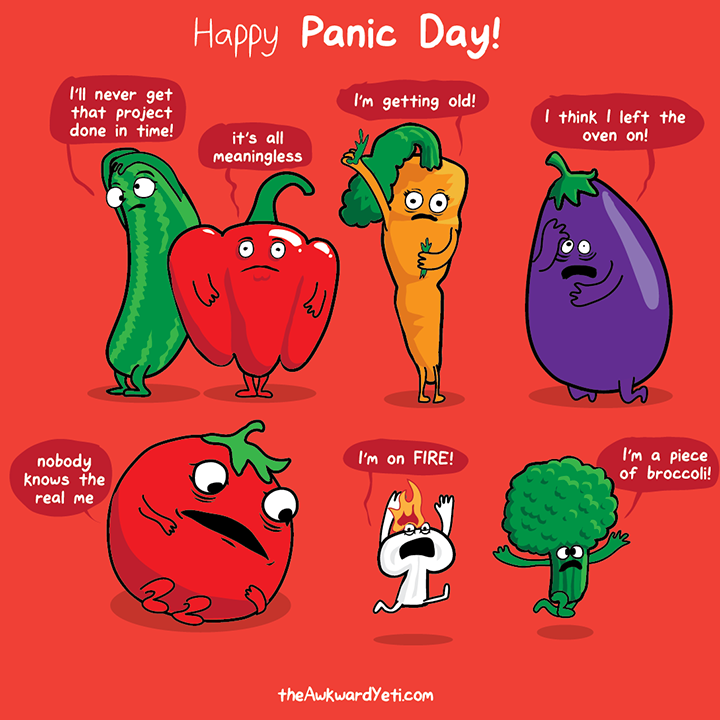 March 9th is PANIC DAY!