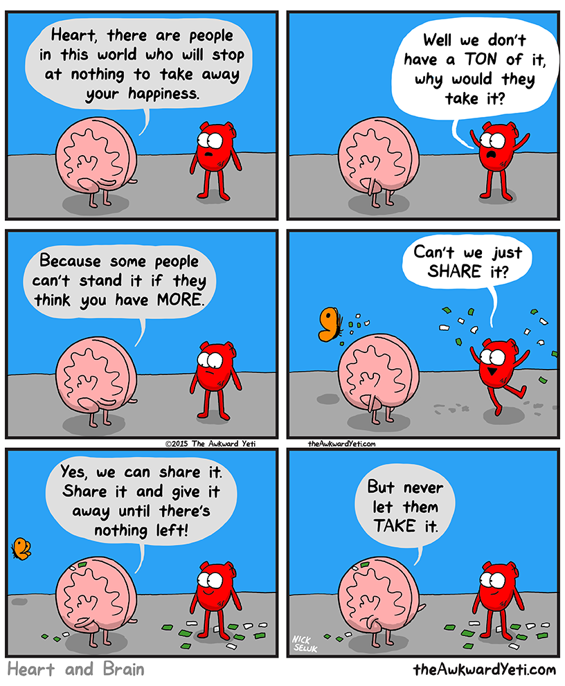 Brain's Advice on Happiness