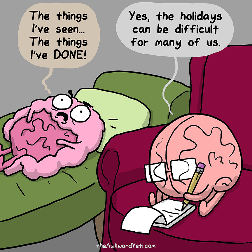 Post Traumatic Holiday Disorder