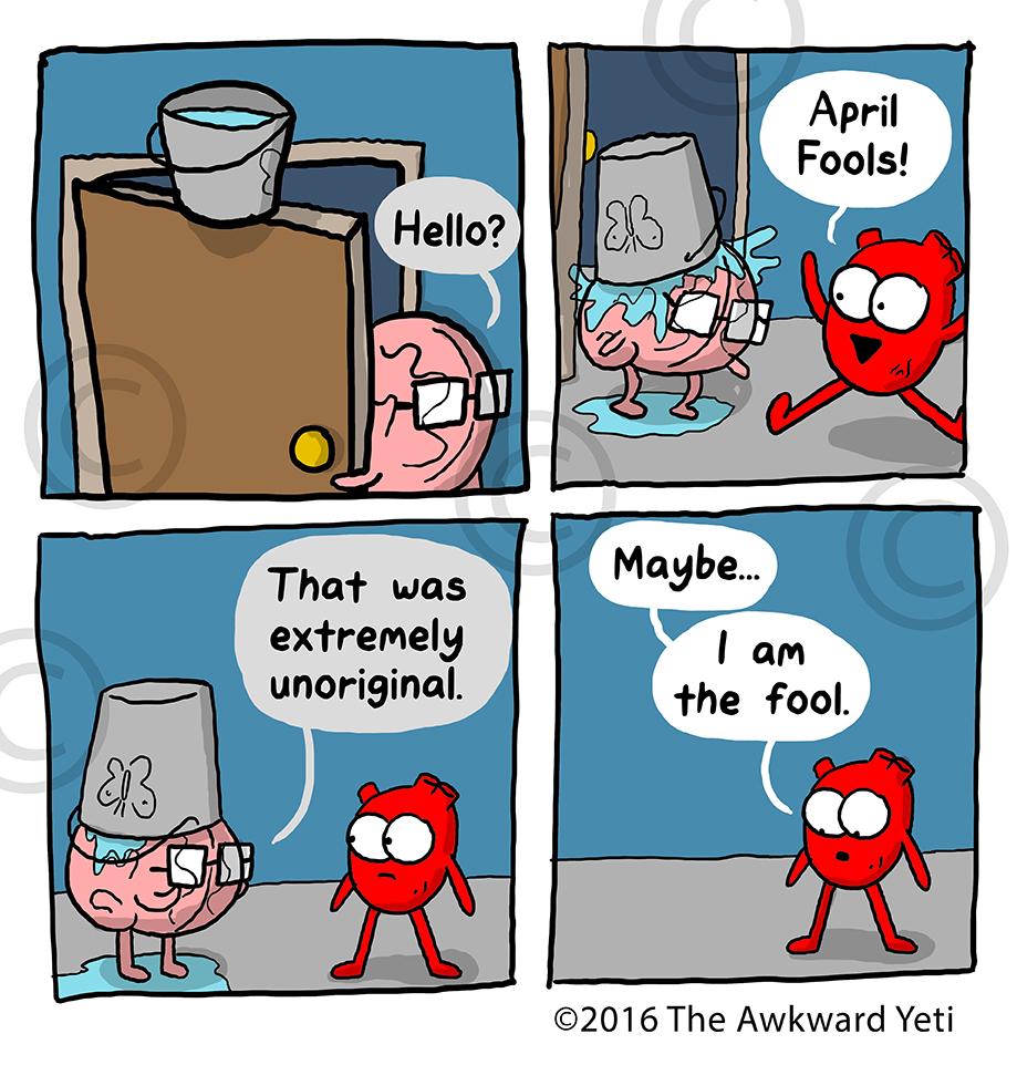 An original comic