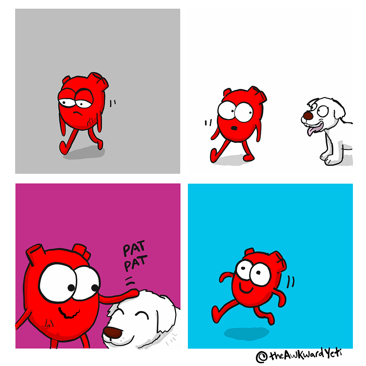 The Awkward Yeti | Heart Plus Dog