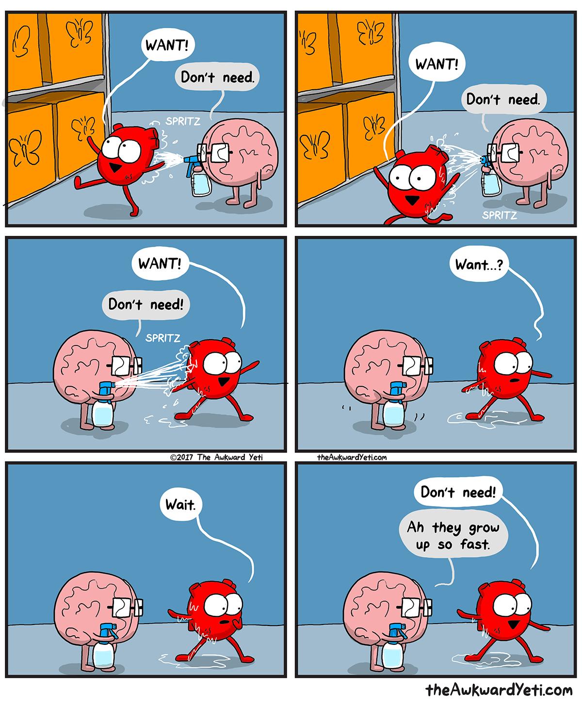The Awkward Yeti | Heart Gets Trained