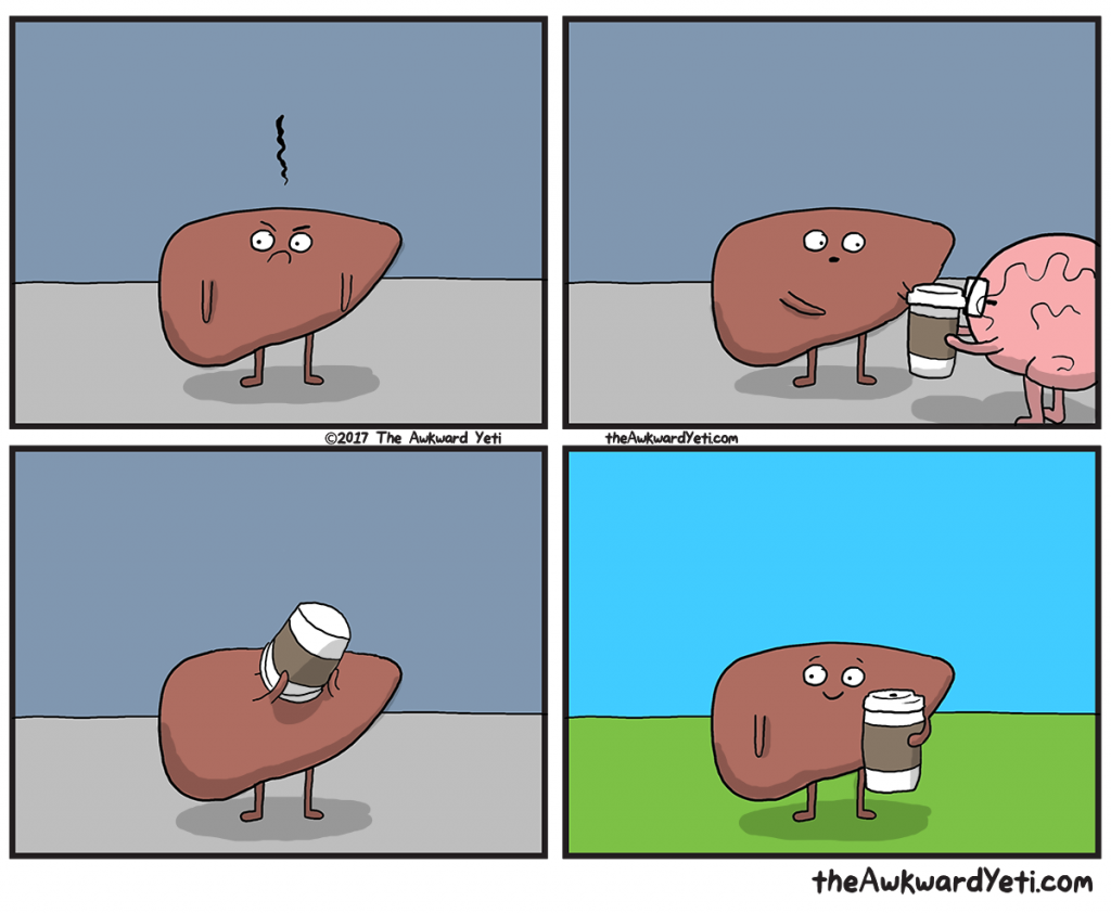 The Awkward Yeti | Liver's Pick Me Up