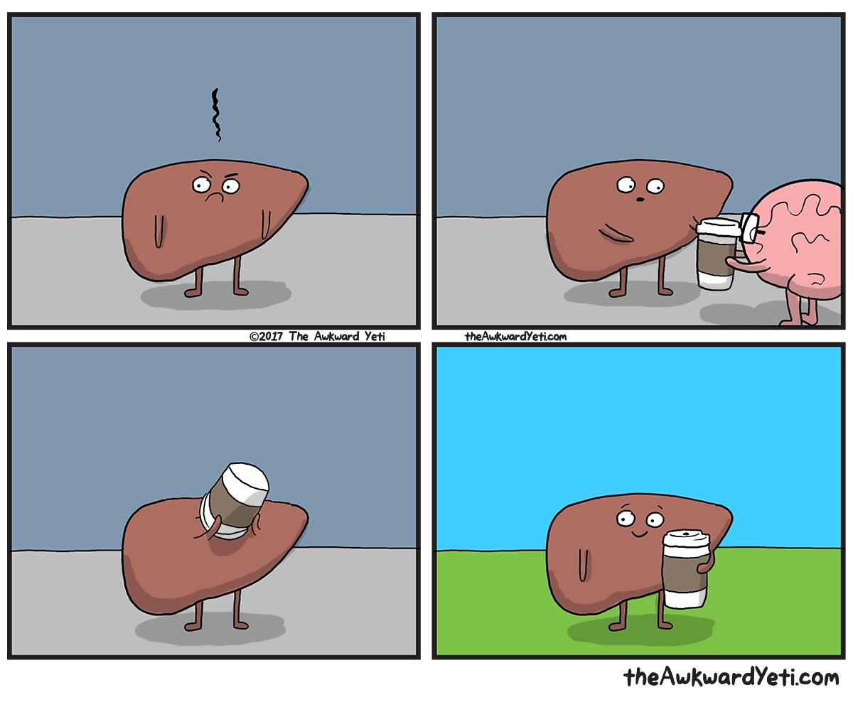 Liver's Pick Me Up