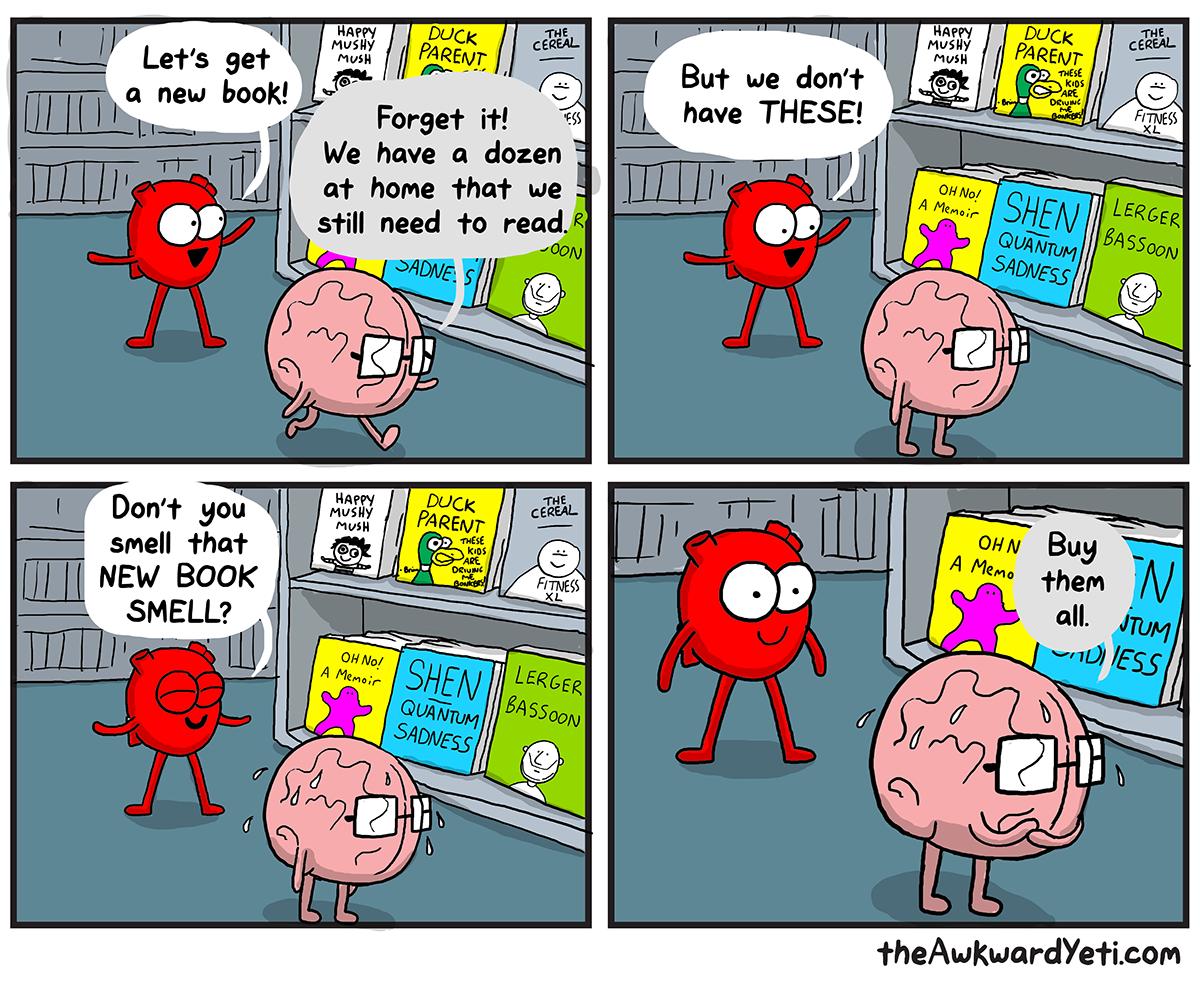 The Awkward Yeti   Buy the Books