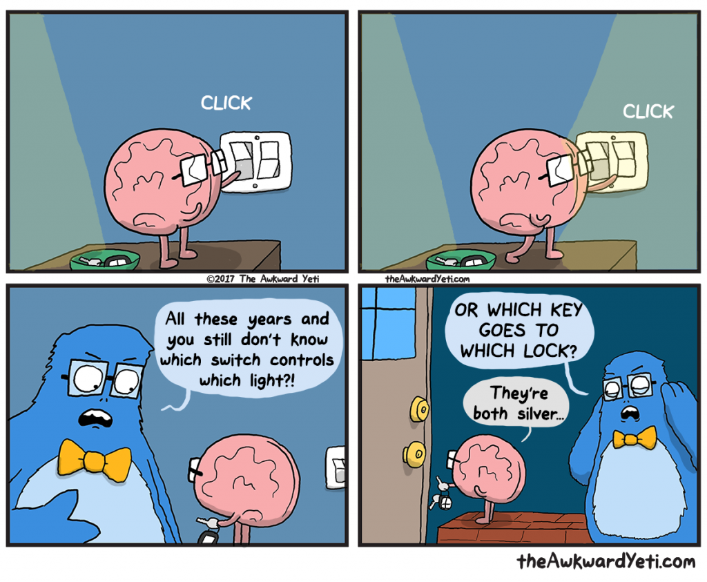 The Awkward Yeti | Brain Trial and Error