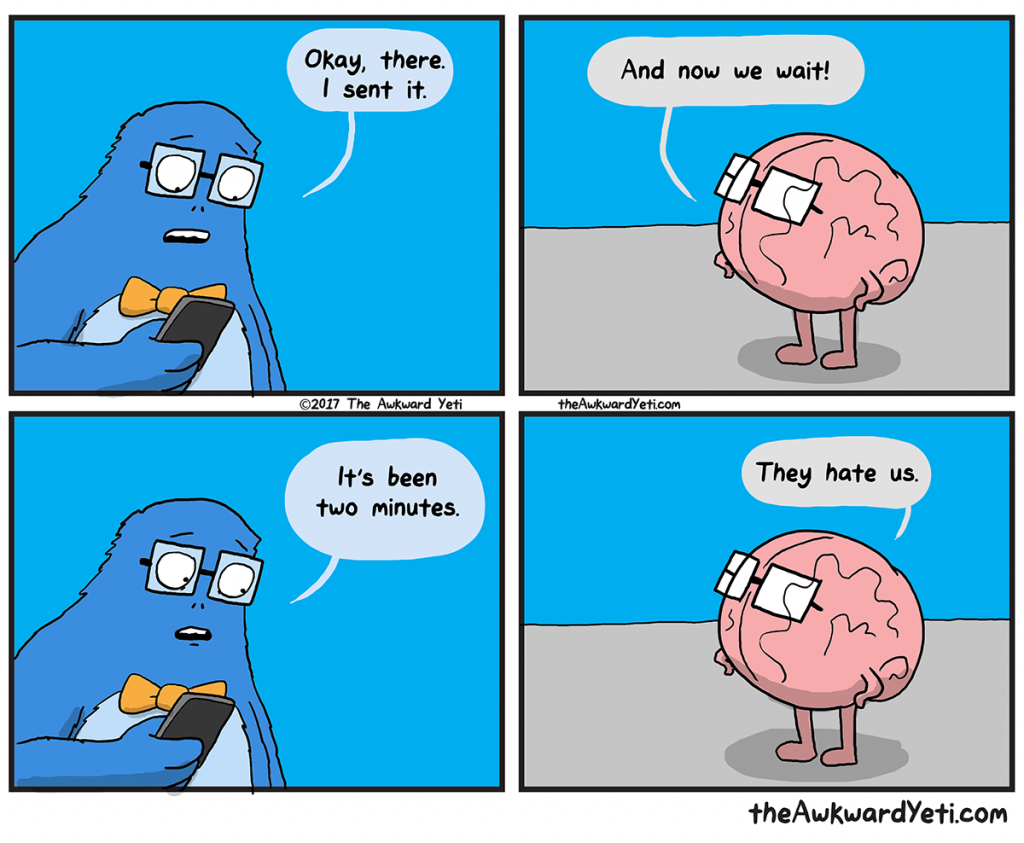 The Awkward Yeti | Waiting Game