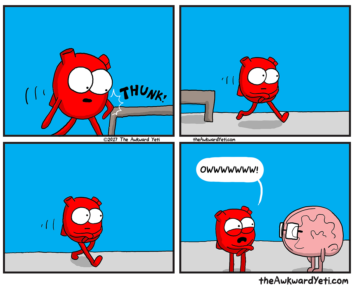 The Awkward Yeti | Attention Seeker