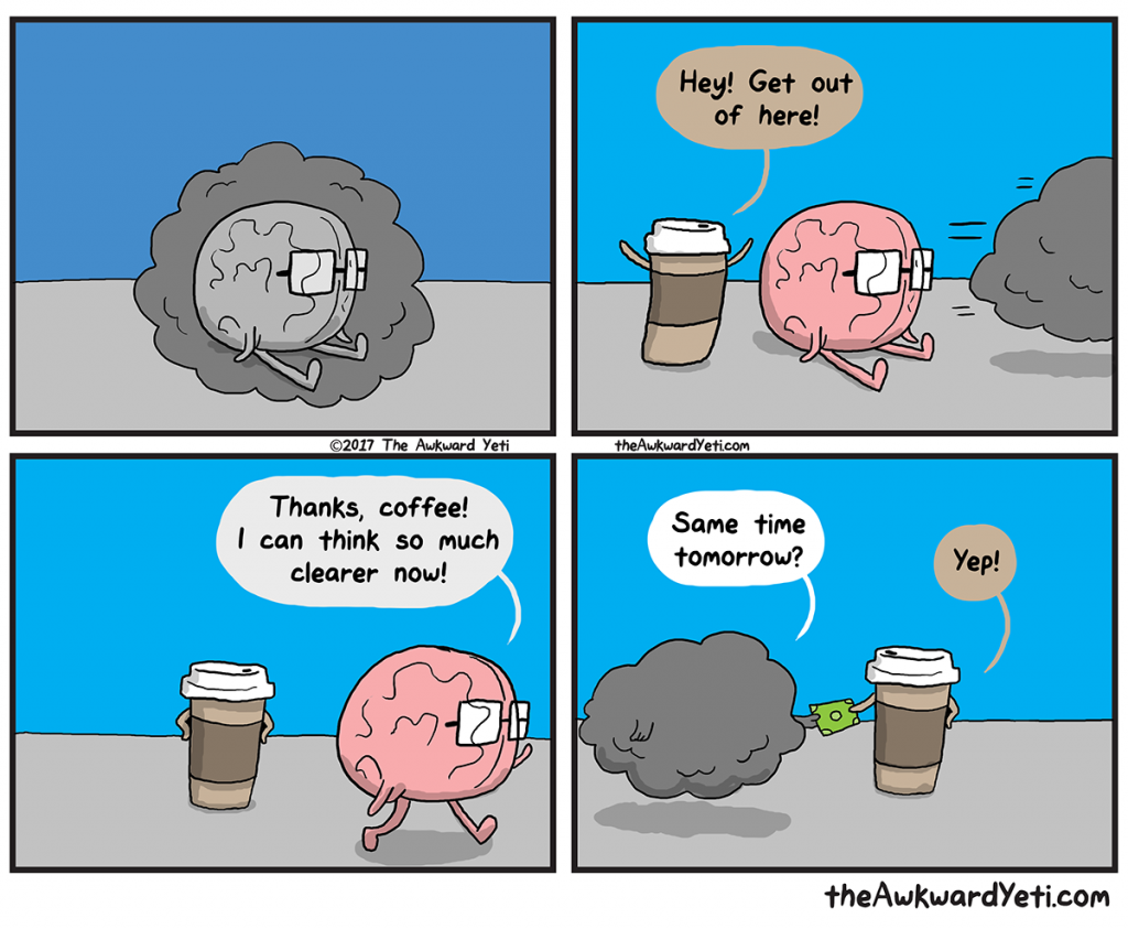 The Awkward Yeti | Brain Fog