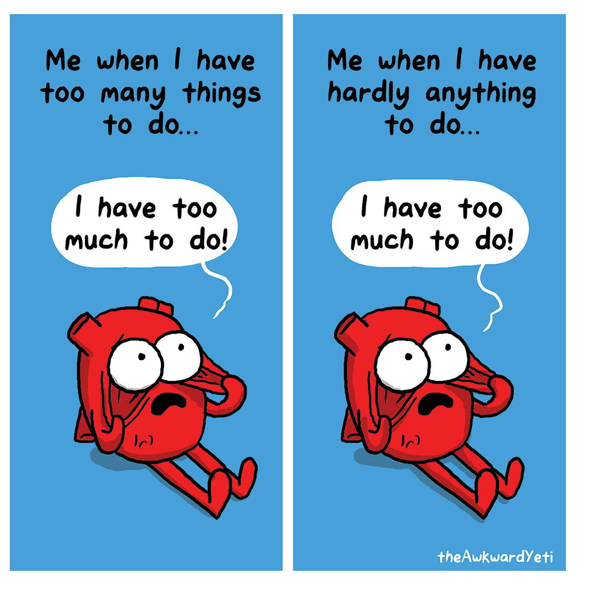The Awkward Yeti   Things to Do