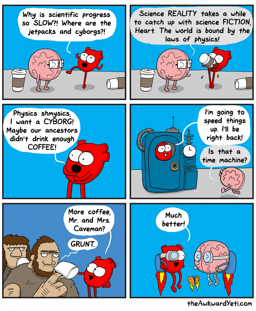 The Awkward Yeti | Scientific Process