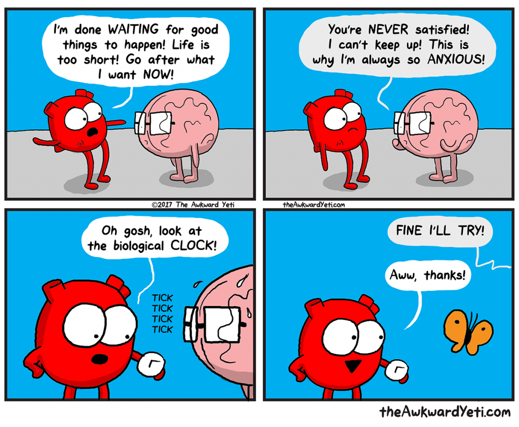 The Awkward Yeti | Tick Tock