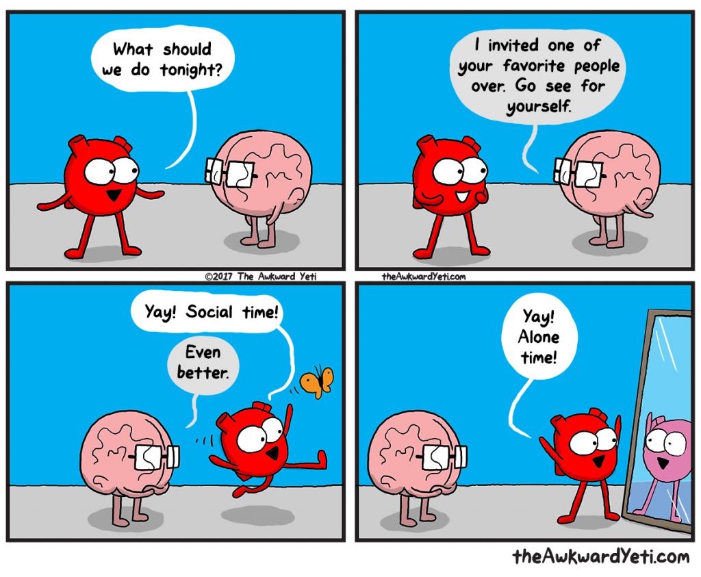 The Awkward Yeti | Me Time