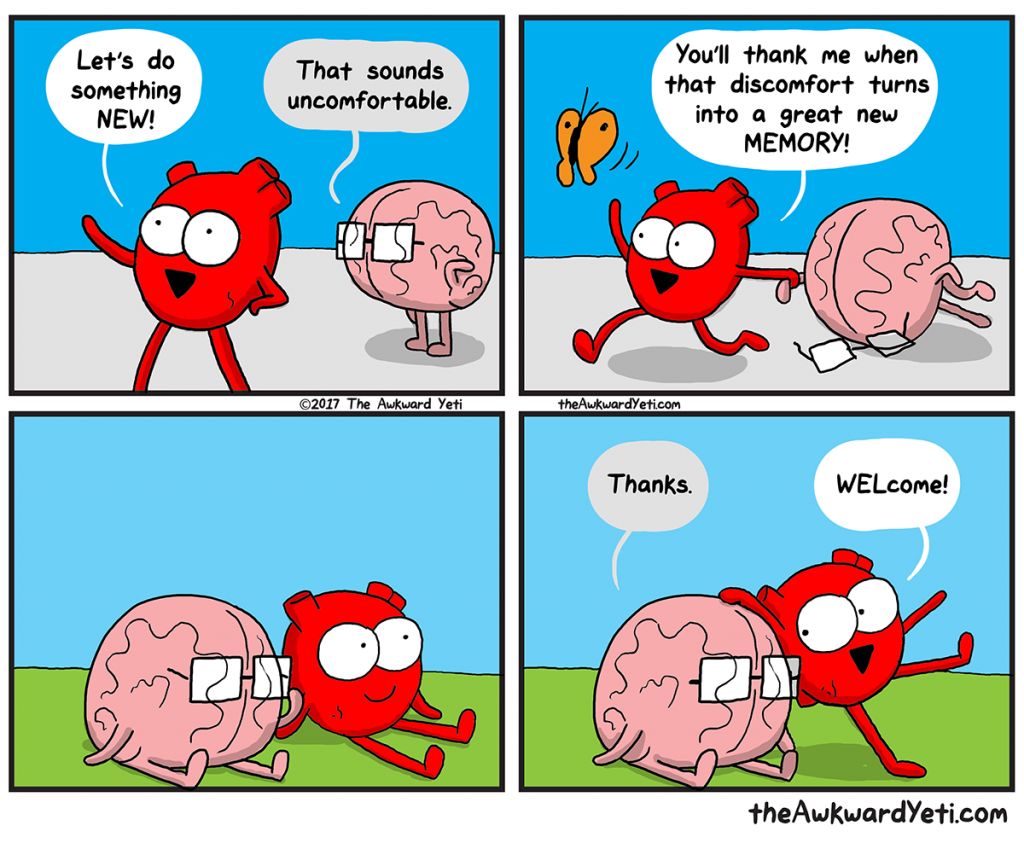 The Awkward Yeti | Something New