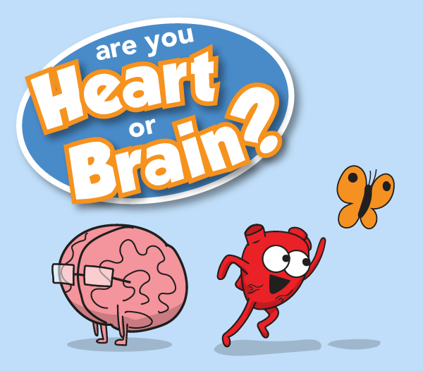 Are You Heart or Brain? | The Awkward Yeti