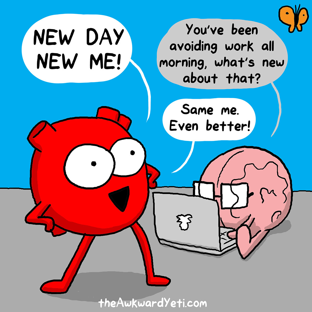 Image result for new day cartoon