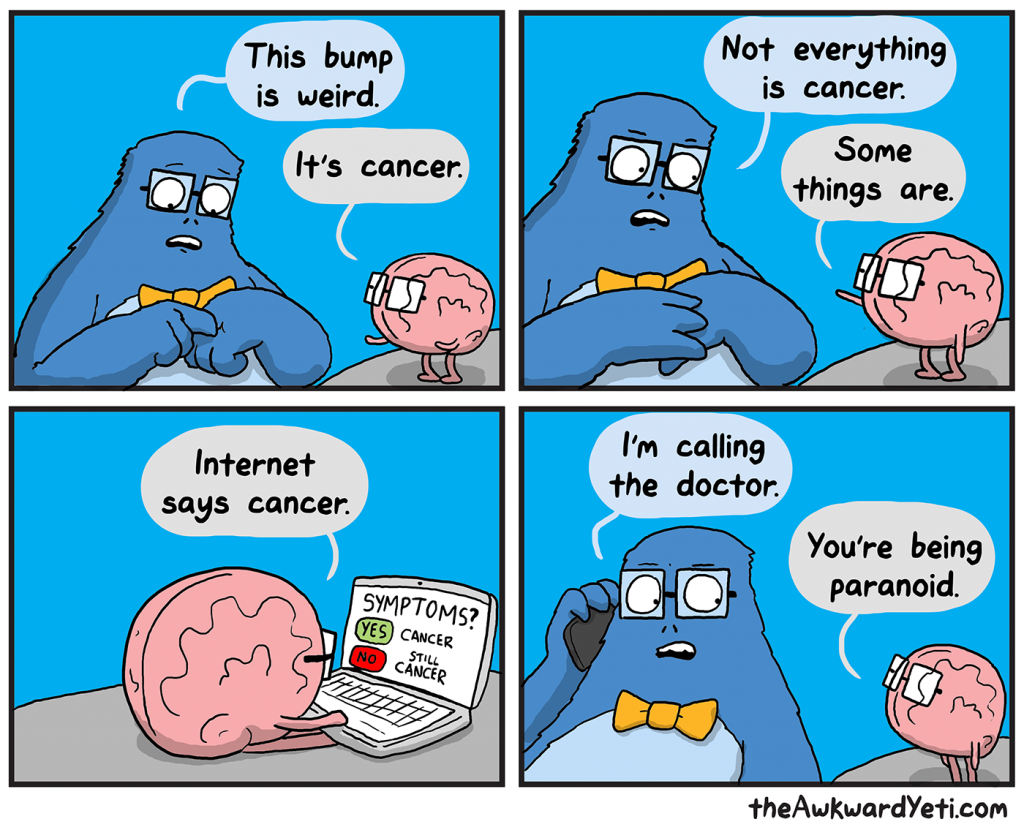 Funny Funny Funny Comics: The Awkward Yeti